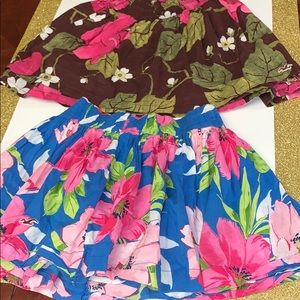 Hollister Flowery Skirt Bundle